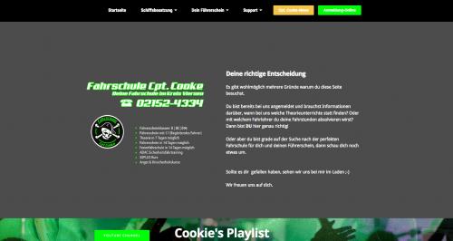 Firmenprofil von: Fahrschule Captain Cooke in Kempen