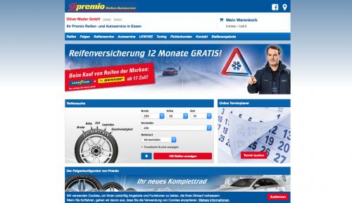 Firmenprofil von: Oliver Mader GmbH - Ihr Premio Reifen- und Autoservice in Essen