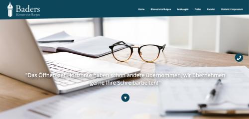 Firmenprofil von: Baders Büroservice Burgau in Konzenberg