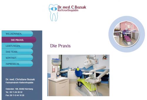 Firmenprofil von: Fachzahnärztin für Kieferorthopädie in Nürnberg: Dr. med. Christiane Bozsak