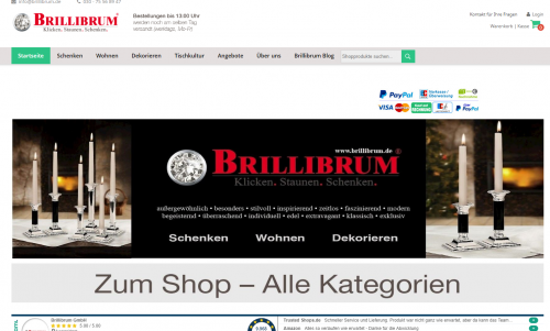 Firmenprofil von: Afrikanische Dekofiguren für die Wohnung: Brillibrum GmbH