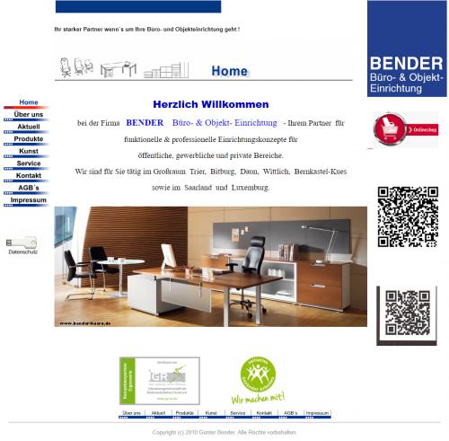 Firmenprofil von: Funktionelle Arbeitsplätze mit Bender Büroeinrichtung in Bekond bei Trier
