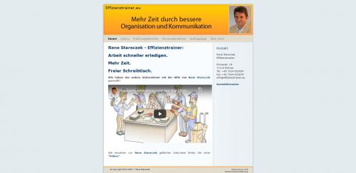 Firmenprofil von: René Stareczek – Ihr Experte für Büroorganisation und Effizienz-Coaching im Raum Böblingen