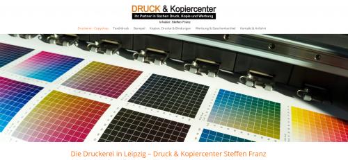 Firmenprofil von: Ihr Copyshop in Leipzig: Druck- & Kopiercenter Steffen Franz