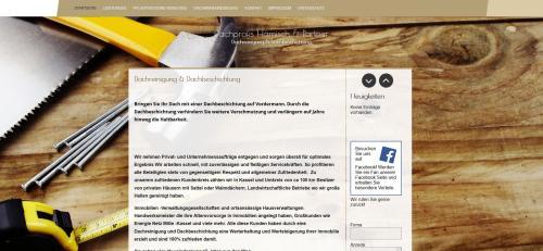 Firmenprofil von: Dachrinnenreinigung im Großraum Kassel von den Dachprofis