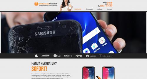 Firmenprofil von: Preiswerte Smartphonereparatur: Handyservice-Darmstadt