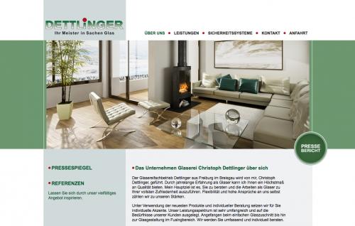 Firmenprofil von: Glaserei Dettlinger in Freiburg