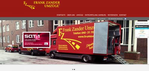 Firmenprofil von: Stressfreier Büroumzug: Frank Zander Umzüge e. K. in Hamburg