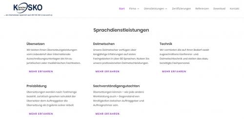 Firmenprofil von: KOSKO Sprachenservice: Ihr Wirtschaftsübersetzer für alle Fälle
