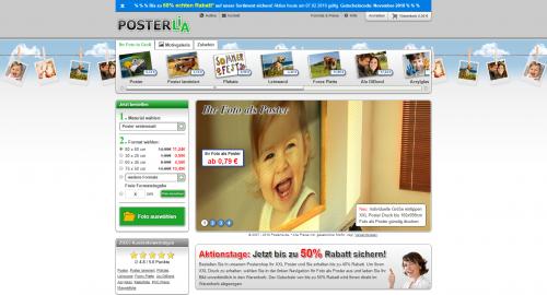 Firmenprofil von: Hochwertiger XXL-Posterdruck von Posterlia