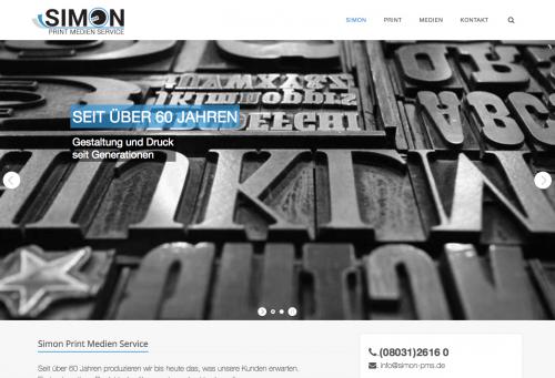 Firmenprofil von: Hochwertige Druckprodukte in Rosenheim – Simon Print Medien Service
