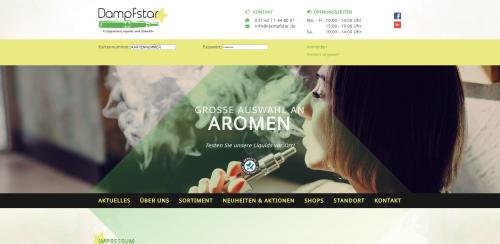 Firmenprofil von: E-Zigaretten Probierboxen von Dampfstar in Viersen