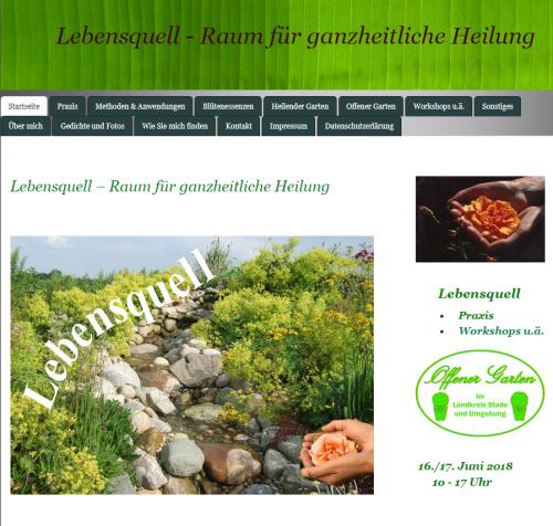 Firmenprofil von: Ernährungsberatung im Landkreis Cuxhaven bei Naturheilpraktikerin Irmgard Biermann