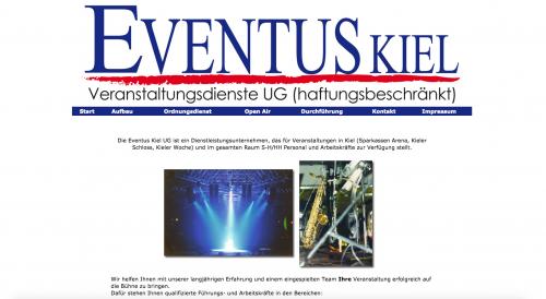 Firmenprofil von: Kompetenter Personaldienstleister für Ihre Veranstaltung – Eventus Veranstaltungsdienste UG in Kiel