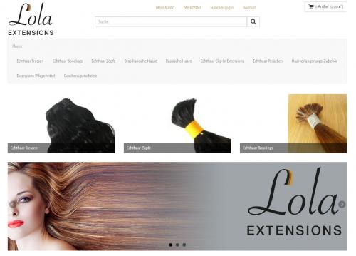 Firmenprofil von: Hochwertige Echthaar Extensions von Lola EXTENSIONS