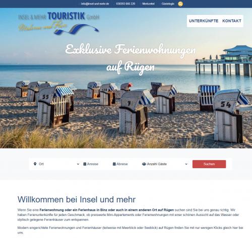 Firmenprofil von: Exklusive Ferienwohnungen auf Rügen – Insel und mehr Touristik GmbH