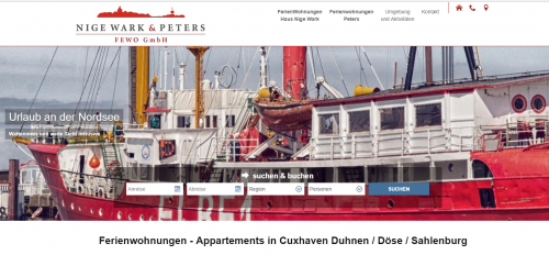 Firmenprofil von: Komfortable Ferienappartements in Cuxhaven: PETERS FEWO GmbH