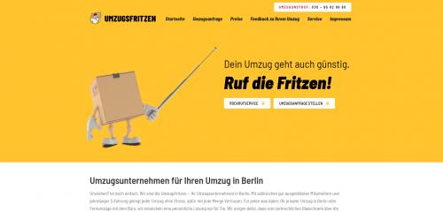 Firmenprofil von: Fernumzüge mit den Umzugsfritzen – von Berlin durch ganz Deutschland