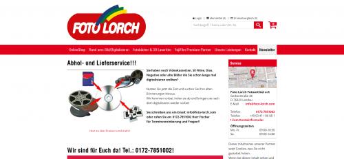 Firmenprofil von: Fotografieren mit der perfekten Kamera: Foto Lorch in Landau