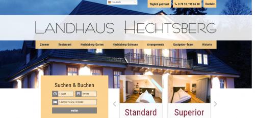 Firmenprofil von: Traumhaft gelegenes Frühstückshotel im Schwarzwald: Landhaus Hechtsberg