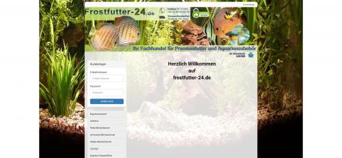 Firmenprofil von: Erstklassiges Zierfischfutter: Frostfutter-24.de