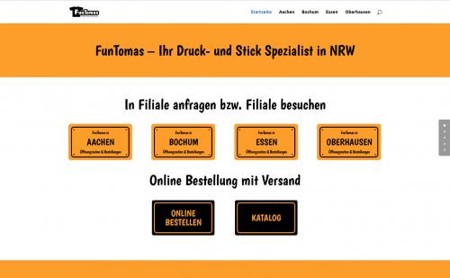 Firmenprofil von: Textildruck-Spezialitäten aus erster Hand: FunTomas