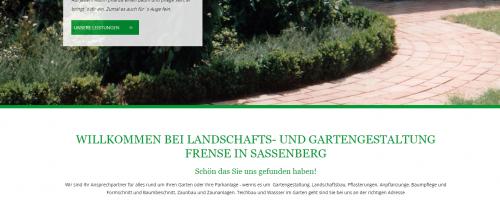 Firmenprofil von: Frense Garten- und Landschaftsbau: Der Spezialist für Zaunbau in Sassenberg