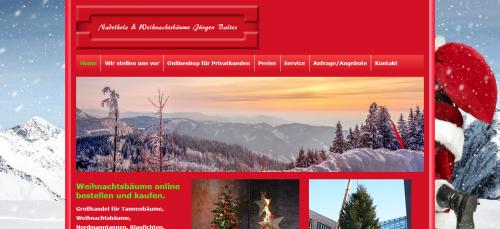 Firmenprofil von: Weihnachtsbäume für Gartencenter: Nadelholz & Weihnachtsbäume Jürgen Baltes