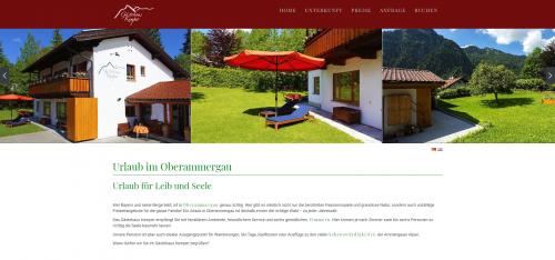 Firmenprofil von: Landpension Bayern: Unvergesslicher Urlaub mit Gästehaus Kemper