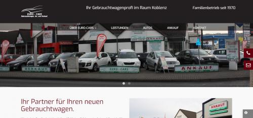 Firmenprofil von: Gebrauchtwagenankauf bei Euro-Cars R & R Automobile in Mülheim-Kärlich