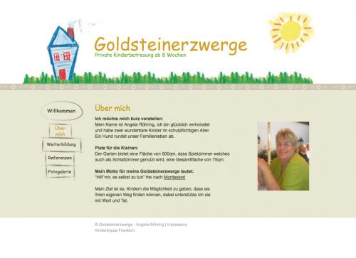 Firmenprofil von: Kinderbetreuung Goldsteinerzwerge in Frankfurt am Main