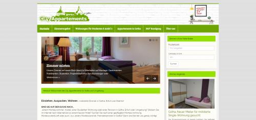 Firmenprofil von: Preiswert übernachten in Gotha: City Appartements