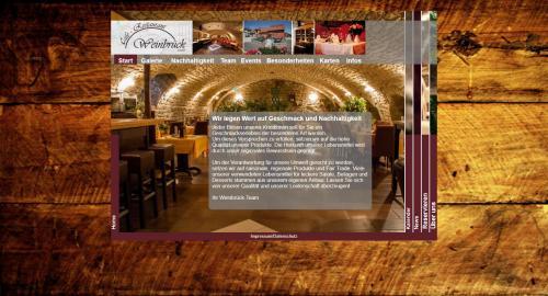 Firmenprofil von: Gourmet-Restaurant in Bad Kreuznach: Restaurant Weinbrück