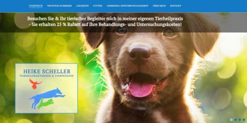 Firmenprofil von: Tierpension bei Gütersloh: Tierheilpraktikerin Heike Scheller
