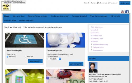 Firmenprofil von: Addition GmbH in Leverkusen: Hausversicherung statt Hausbaustopp