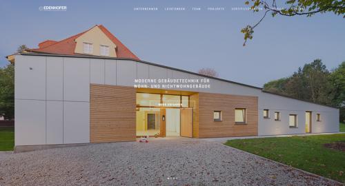 Firmenprofil von: Kompetente Heizungsplanung von Ingenieurbüro Edenhofer in Antdorf bei München