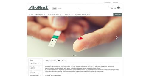 Firmenprofil von: Praktische Alltagserleichterungen: AirMed PLUS GmbH