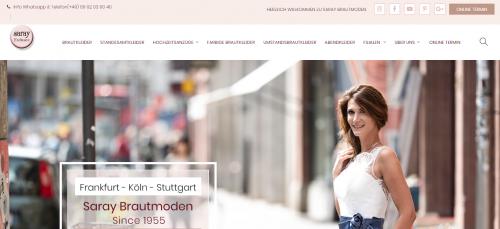 Firmenprofil von: Hochzeitsmode in Köln für den schönsten Tag im Leben: Saray Brautmoden