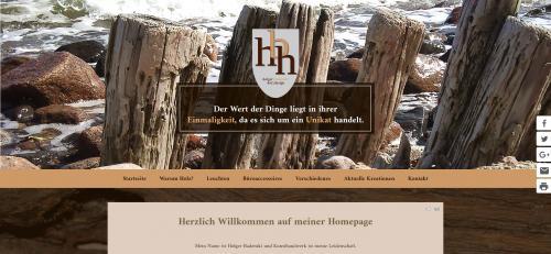 Firmenprofil von: Holzlampen und Leuchten in Pinneberg: Die Holzkreationen Holger Badenski