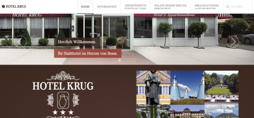 Firmenprofil von: Hundehotel in Bonn mal anders: mit Hund im Hotel Krug