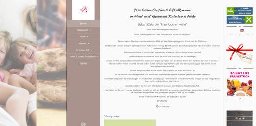 Firmenprofil von: Im Grünen gelegenes Wanderhotel im Ahrtal: Kalenborner Höhe
