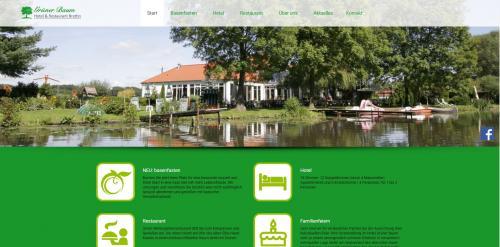 Firmenprofil von: Natururlaub in Brandenburg und Umgebung: Hotel Grüner Baum