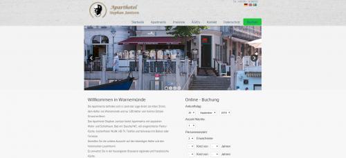 Firmenprofil von: Idyllische Ferienwohnung in Warnemünde mit Meerblick: Aparthotel Stephan Jantzen