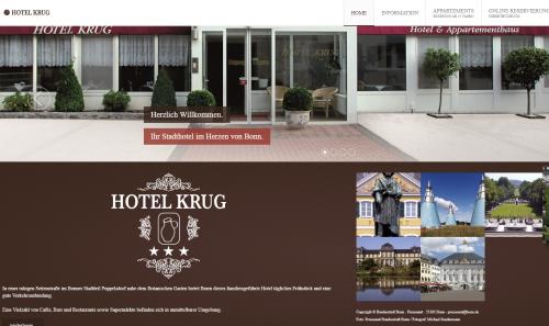 Firmenprofil von: Schluss mit der Hotelsuche – Hotel Krug in Bonn