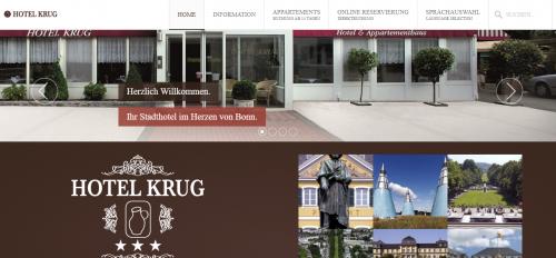 Firmenprofil von: Hotel Krug: Komfortable Hotelzimmer in Bonn-Poppelsdorf