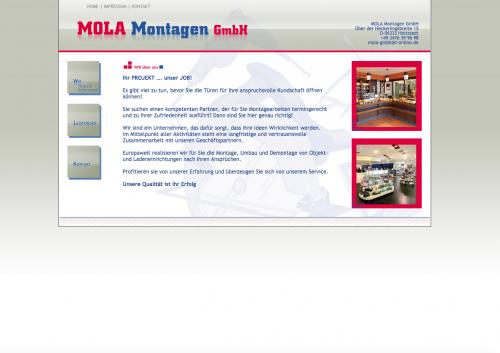 Firmenprofil von: Mola Montagen GmbH: Der organisierte Ladenbau aus Hettstedt