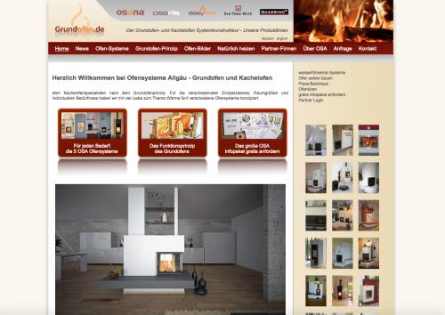Firmenprofil von: Heizen wie Früher: Ofensysteme von OSA Vertriebs GmbH