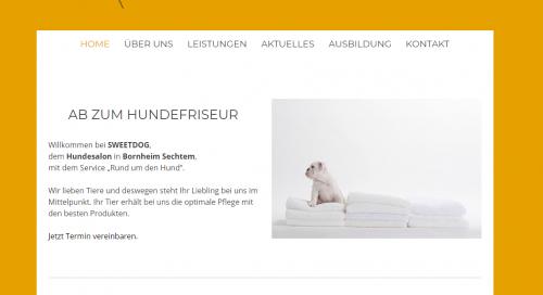Firmenprofil von: Kompetenter Hundefriseur in Bornheim: SWEETDOG Hundesalon