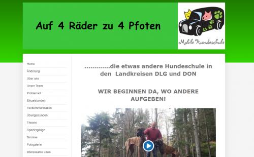 Firmenprofil von: Mobile Hundeschule in Dillingen: Auf vier Rädern zu vier Pfoten
