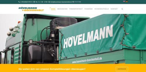 Firmenprofil von: Ihr Spezialist für Maschinentransporte in Niedersachsen – Ferdinand Hövelmann Spedition GmbH